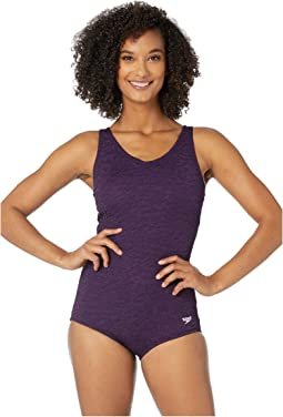 0e96ae6d322 Speedo texture touchback one piece | Shipped Free at Zappos