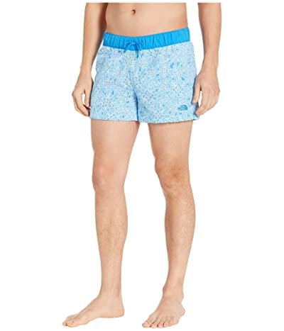 The North Face Class V Skort (Clear Lake Blue Floral Block Print) Women