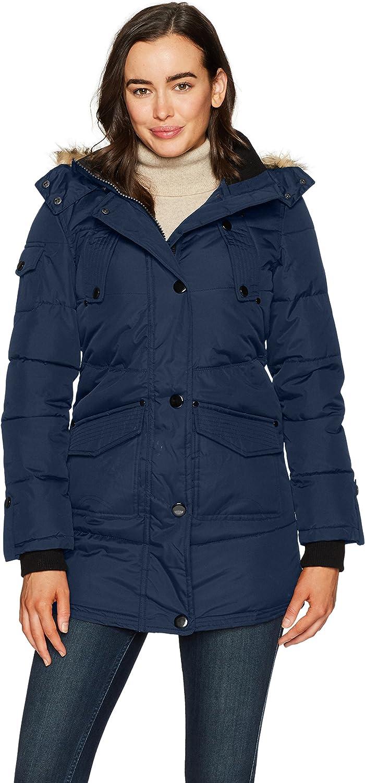 Celsius Women's Heavyweight Wellon Coat with Oversized Hood