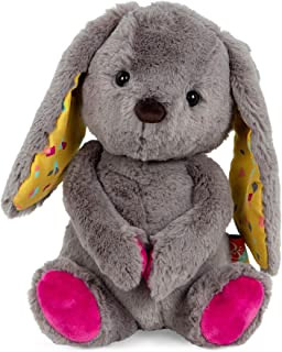 B. toys by Battat – Happy Hues – Sprinkle Bunny – Huggable Stuffed Animal Rabbit Toy – Soft & Cuddly Plush Bunny – Washabl...