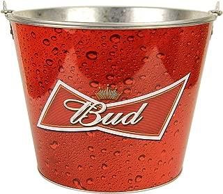 Beer Brand Full Color Aluminum Beer Bucket (Budweiser Red Drops)