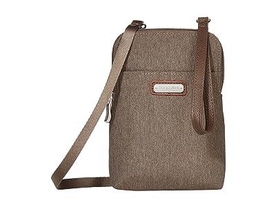 Baggallini New Classic Take Two RFID Bryant Crossbody (Dark Umber) Handbags
