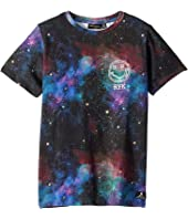 Rock Your Baby - Intergalactic Short Sleeve T-Shirt (Toddler/Little Kids/Big Kids)