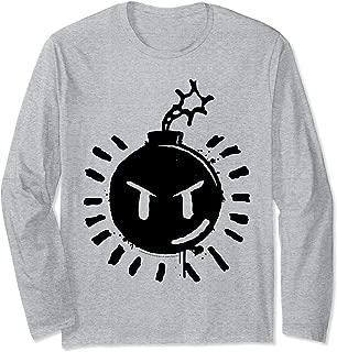 Scott Pilgrim Vs. The World Sex Bob Omb Bomb Logo Long Sleeve T-Shirt