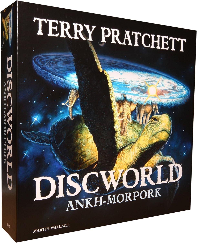 ordene ahora los precios más bajos Terry Pratchett Iello Discworld Ankh Morpork - Juego de de de Mesa (en inglés)  comprar nuevo barato