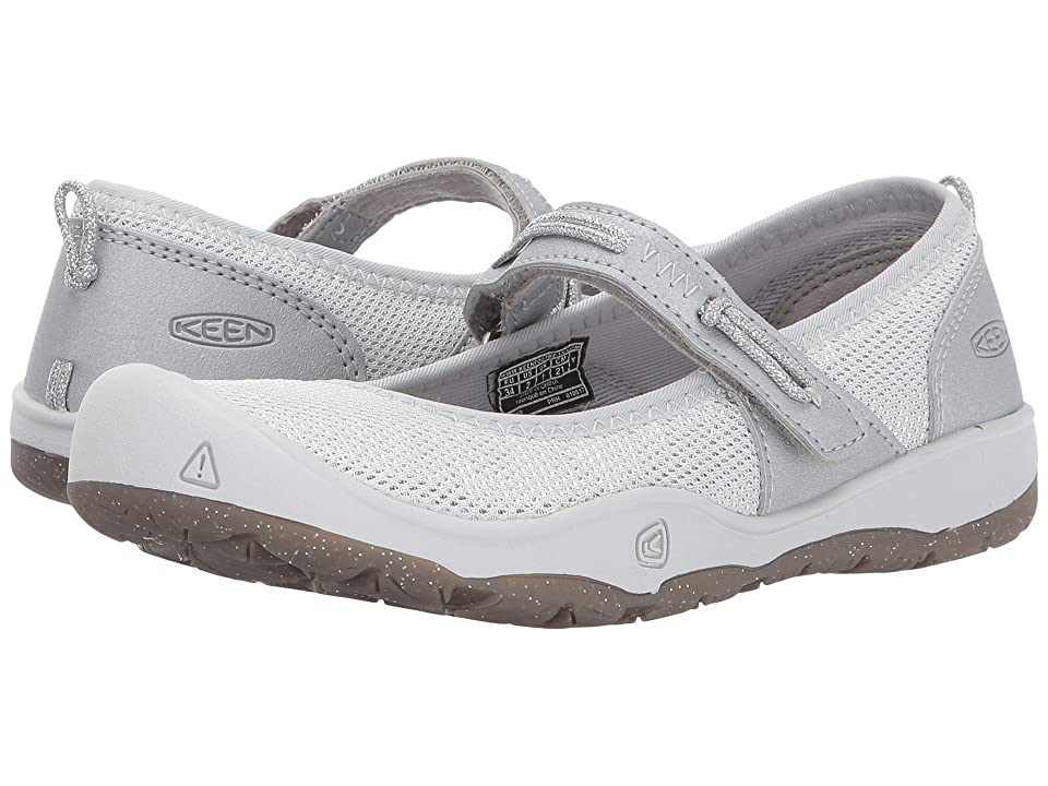 Keen Kids Moxie Mary Jane (Little Kid/Big Kid) (Silver) Girl