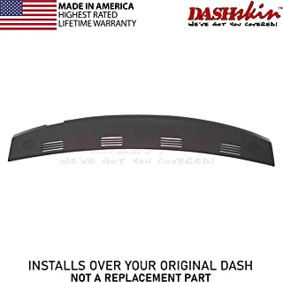DashSkin Molded Defrost Dash Cover Compatible with 02-05 Dodge Ram in Dark Slate Grey (USA Made)