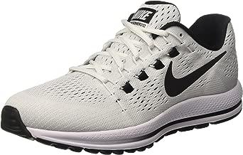 Nike Men's Air Zoom Vomero 12 Running Shoes (8, White/Black)