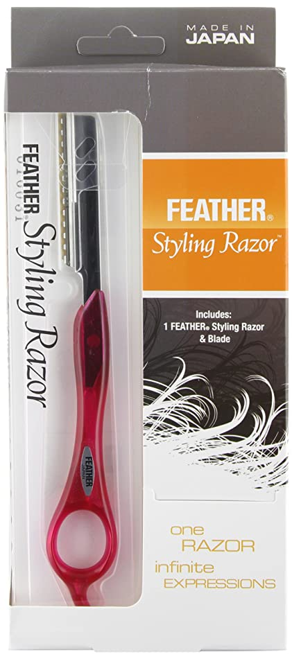 Feather Tomei Fuchsia Razor Kit