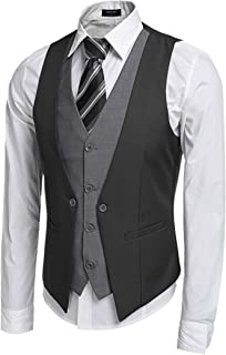 Best mens two tone vest Reviews