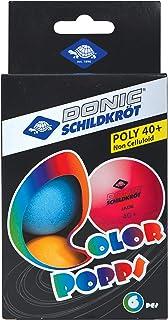 Donic-Schildkr/öt Pelotas de Tenis de Mesa 1 Estrella Elite 3 Piezas en Caja Calidad Poly 40+