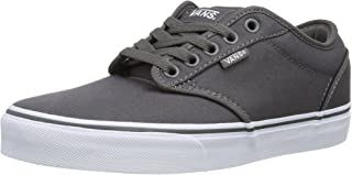 Vans Men Low-Top Sneakers, Grey (Pewter/White), 8.5 us