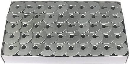 100 Aluminum Bobbins For Long Arm Quilting Machine (Viking Mega Quilter 18, Pfaff Grand Quilter 18 Machines & more)