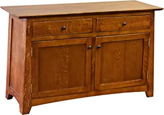 Crafters and Weavers Mission/Arts and Crafts Solid Quarter Sawn White Oak Cabinet - Model A34