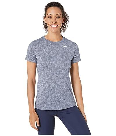 Nike Dry Legend Tee Crew (Obsidian/Heather) Women