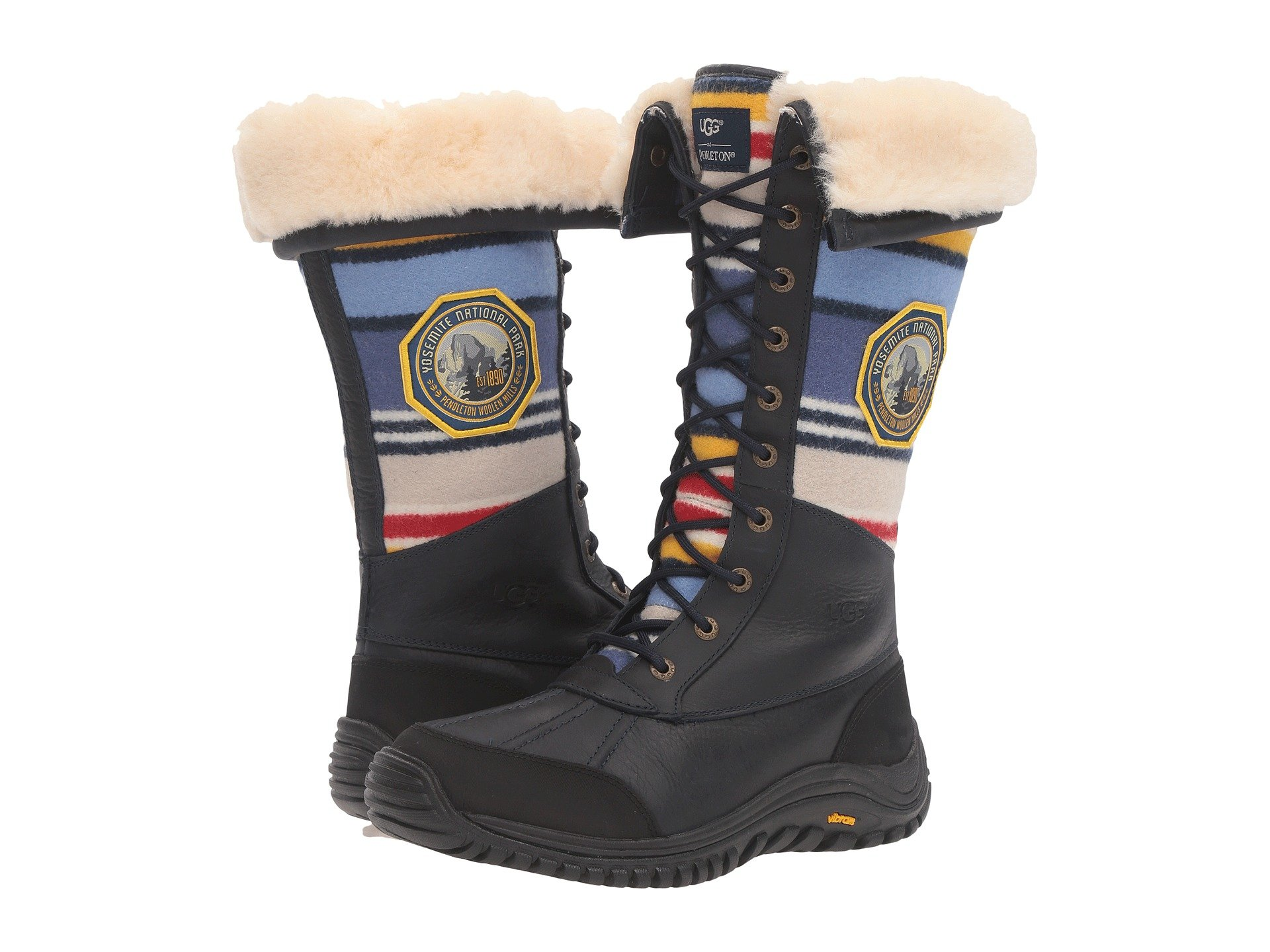 UGG Adirondack Tall NP Yosemite (Navy) Women