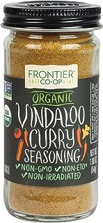 Frontier Organic Seasoning, Vindaloo, 1.9 Ounce