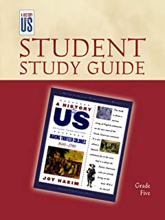 Making Thirteen Colonies: Elementary Grades Student Study Guide, a History of Us: Student Study Guide Pairs with a History...