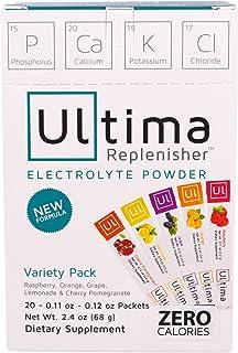 Ultima Replenisher Sports Nutrition Variety Pack, 4.5 Oz