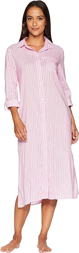 Long Sleeve Roll Cuff Ballet Sleepshirt