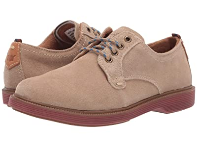 Florsheim Kids Supacush Plain Toe Ox, Jr. (Toddler/Little Kid/Big Kid) (Sand Suede/Brick Sole) Boy