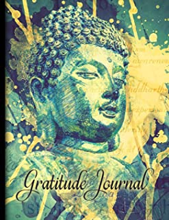 Gratitude Journal: Buddha Mindfulness Notebook/Diary For Your Personal Journey