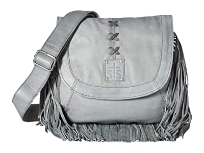 STS Ranchwear Daydreamer Crossbody (Grey) Handbags