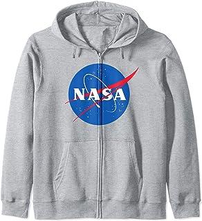 NASA grigia Felpa con Cappuccio