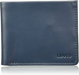 Levi's Leather Blue Men's Wallet