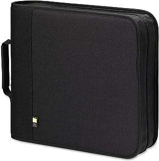 CD/DVD Expandable Binder, Holds 208 Disks, Black