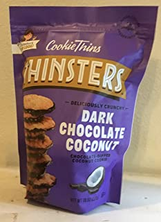 Thinster's Dark Chocolate Coconut Cookie Thins 18 Ounce