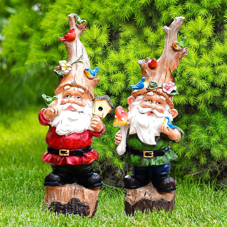 VAINECHAY Now on sale Garden Gnomes Outdoor Decorations Decor unisex