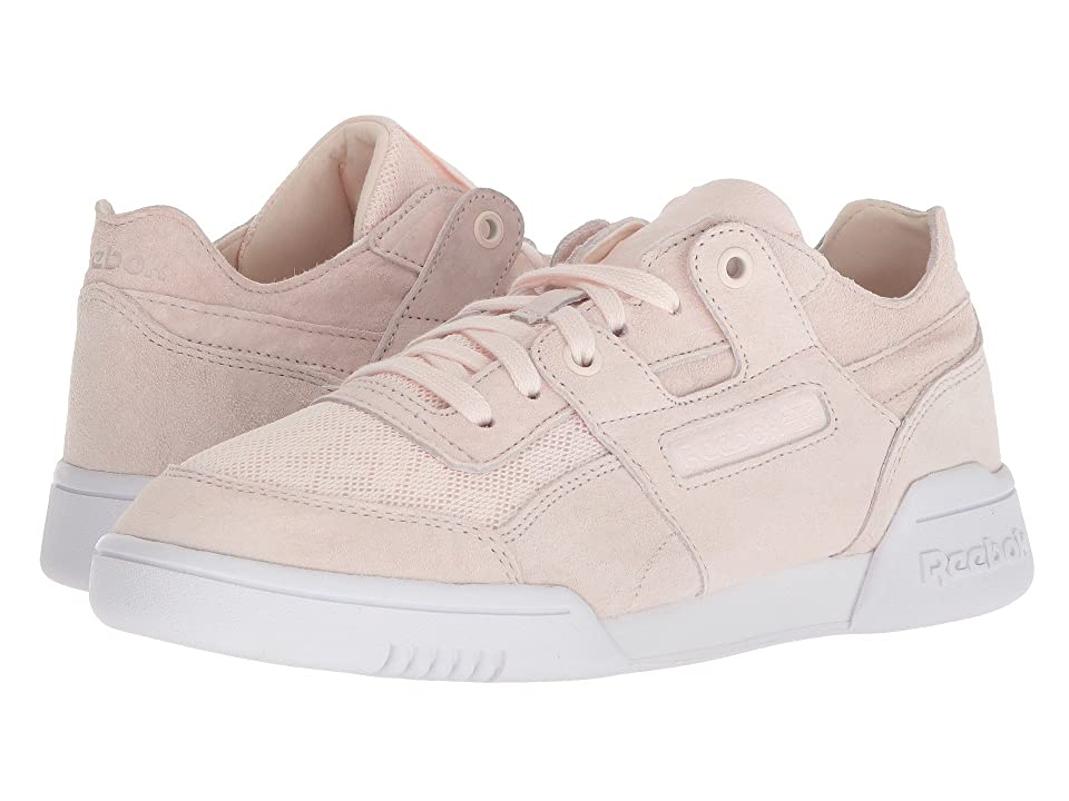Reebok Lifestyle Workout Lo Plus Cold Pastel (Pale Pink/White) Women