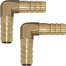 brass hose barb elbow