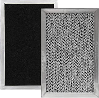 Sponsored Ad - GE JX81C, WB02X10776, LG 5230W1A011B, 5230W1A011C Microwave Recirculating Charcoal Filter (Made in USA) (2-...