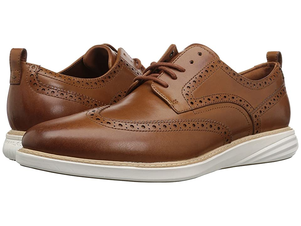 Cole Haan Grand Evolution Shortwing (British Tan/Ivory) Men