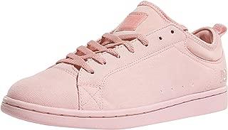 DC Women's Magnolia Tx J Shoe ROS Rose Sneakers-6 UK/India (39 EU) (3613373261441)