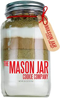 The Mason Jar Cookie Company Brownie Mix, Turtle, 26.46 Ounce