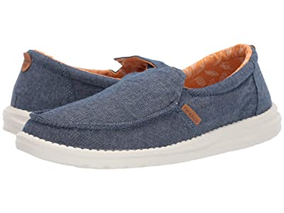 Hey Dude Misty Chambray (Navy) Women