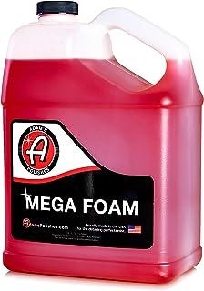 Adam�s Mega Foam Shampoo Gallon - pH Neutral Wash Soap Designed For Maximum Foam Suds In Your Bucket, Foam Cannon or Gun, Sponge, Mitt, Chamois - Won�t Strip Or Remove Wax Sealant or Ceramic Coating