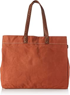 Maika Cosmetic Bag Carryall Tote Waxed Camel