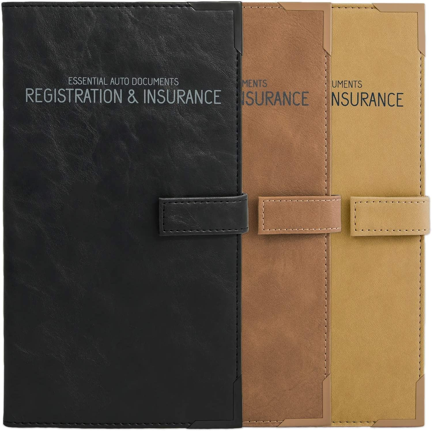 Auto Insurance and Registration Card - Vehicle Rapid rise Glove Import Box Holder