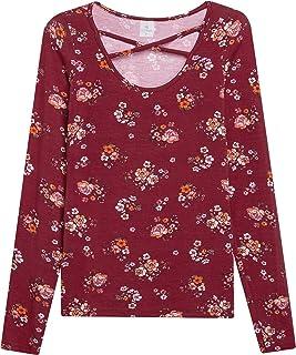 Blusa Lecimar em Viscose com Elastano Inverno Floral Dark