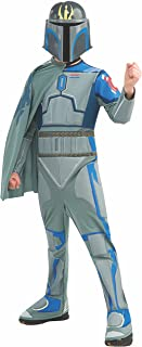 Star Wars The Clone Wars, Child's Costume And Mask, Pre Vizsla Costume, Large