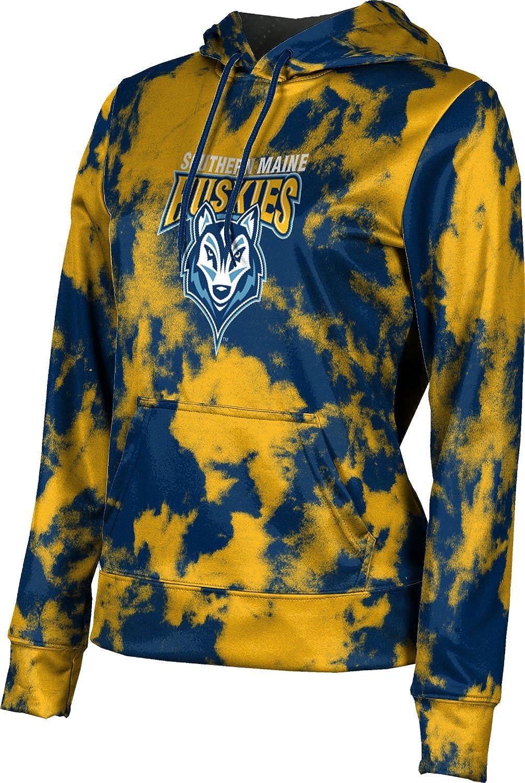 University of Southern Maine Girls' Pullover Hoodie, School Spirit Sweatshirt (Grunge)