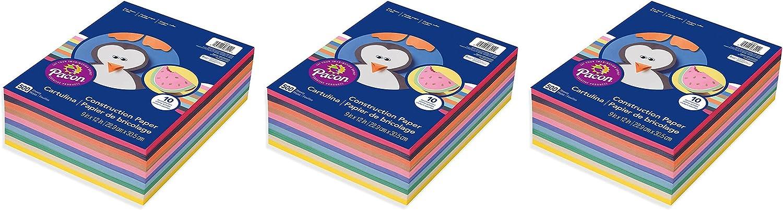 Pacon 9 x Super popular specialty store 12 6555 Rainbow Latest item Construction Ream Super Value Paper
