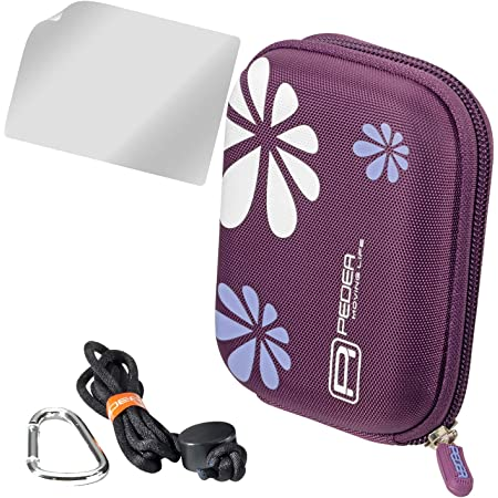 Hama 40 G Flower Hardcase Für Digitalkamera Pink Kamera