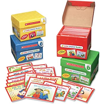 Scholastic Products - Scholastic - Little Leveled Readers Mini Teaching Guide, 75-Books, 5 Each of 15 Titles - Sold As 1 Pack - Step-by-step, book-by-book program guides children through the early stages of reading. - Little Leveled Readers have been carefully evaluated by a reading specialist to correlate with Guided Reading Levels. - Includes Level A Set, Level B Set, Level C Set and Level D Set. - Inside each set you'll find 75 storybooks (five copies of 15 titles) on topics children lov