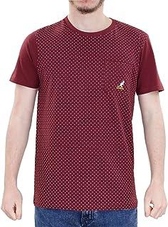 104a4927dd Kangol Nouveau Hommes Crew Neck Dot imprimé Premium qualité Poitrine Poche T  Shirt Top