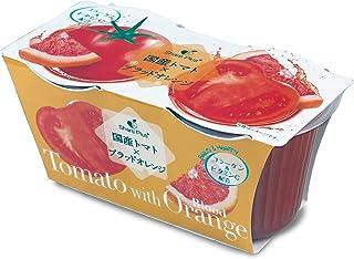 谷尾食糧工業 シェアプラス トマト&ブラッドオレンジゼリー2連 140gX2 ×12個